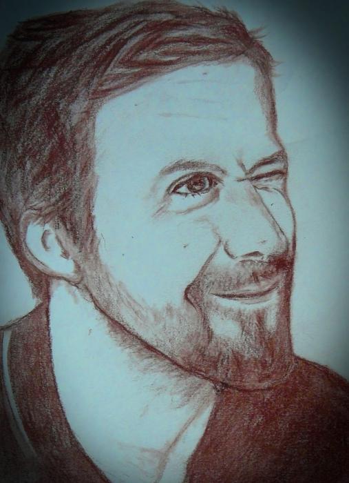 Ryan Gosling by Gina